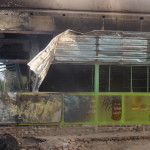 صور مخلفات كارثة سوق الحصاحيصا