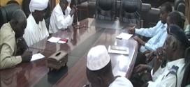 المدير التنفيذي لمحلية الحصاحيصا يلتقي بعض الادارات صباح اليوم بمكتبه
