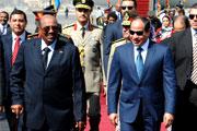 السيسي يستقبل البشير في قصر الاتحادية بالقاهرة
