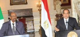 البشير والسيسي اتفقا على ترفيع اللجنة الوزارية العليا المشتركة