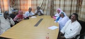 لجنة الإشراف على الخطط الإسكانية تقف علي سير العمل بالحصاحيصا