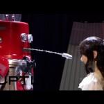 بالفيديو أول روبوت في اليابان يدخل القفص الذهبي (فيديو)
