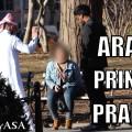 """""""أمير عربي"""" يتلقى صفعة بعد تحرشه بفتاة! (فيديو)"""