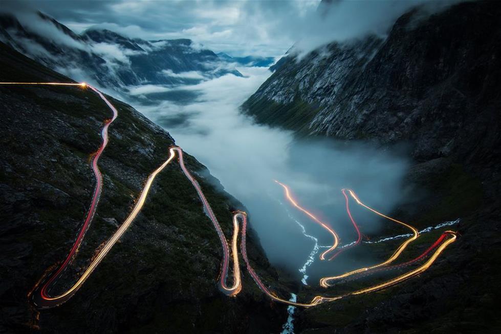 طريق جبلى فى النرويج ـتصوير كريستوف اسكارشميت