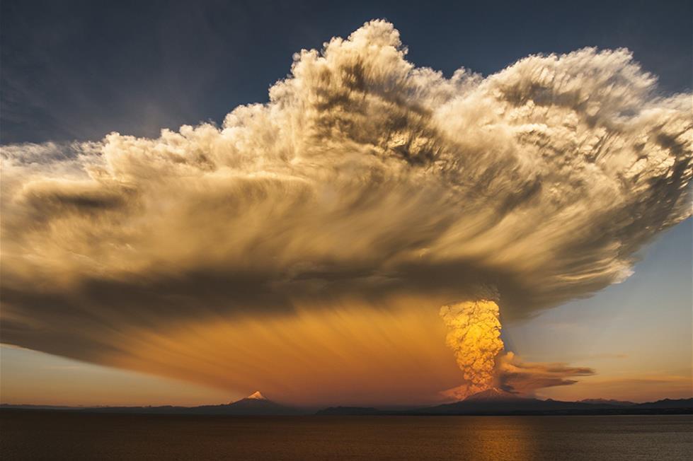 بركان كالبيوكو . تشيلى ـتصوير كوت بايزا