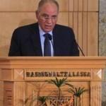 وزير العدل المصري المقال ، أحمد الزند،