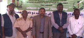 د. عبدالله حمد النيل معتمد الحصاحيصا يدشن حملة الرش بالطالباب